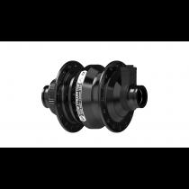 Moyeu PL8 noir, 28 trous, centerlock, axe 15mm x 100