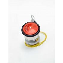 Dynamo Vélogical Sport avec adaptateur sur fourche12/20mm - Rouge