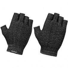 Knitted short finger glove